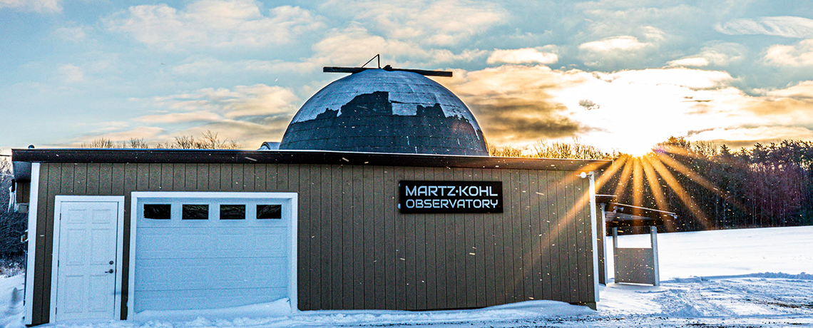 Cold Day at the Observatory