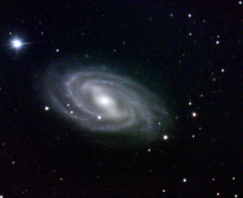 M109 barred spiral galaxy