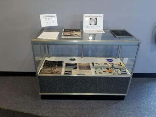 Welcome Center display case