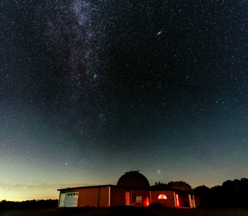 Observatory at night by Wilkins - Sept 2019