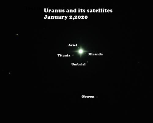 Uranus - LRGB image by John Anderson