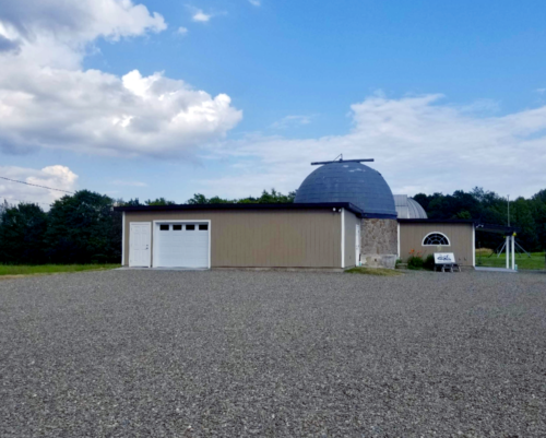 outside parking lot August 2019